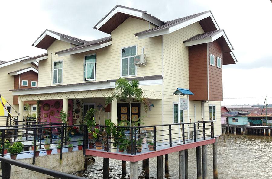 Malay Modern House, her bodde jeg.