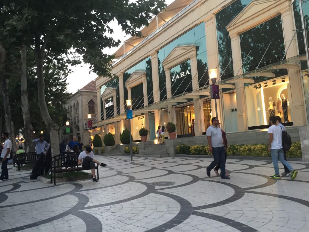 Fountain Square, Baku (Azerbaijan)