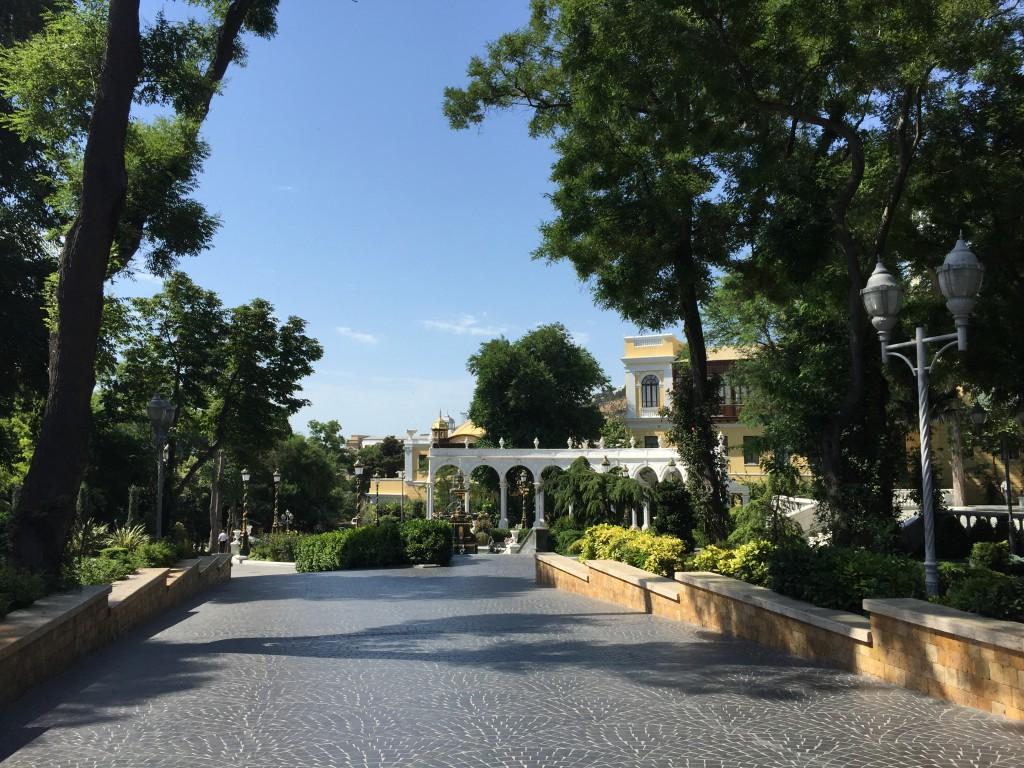 «Operaparken» i Baku, Azerbaijan