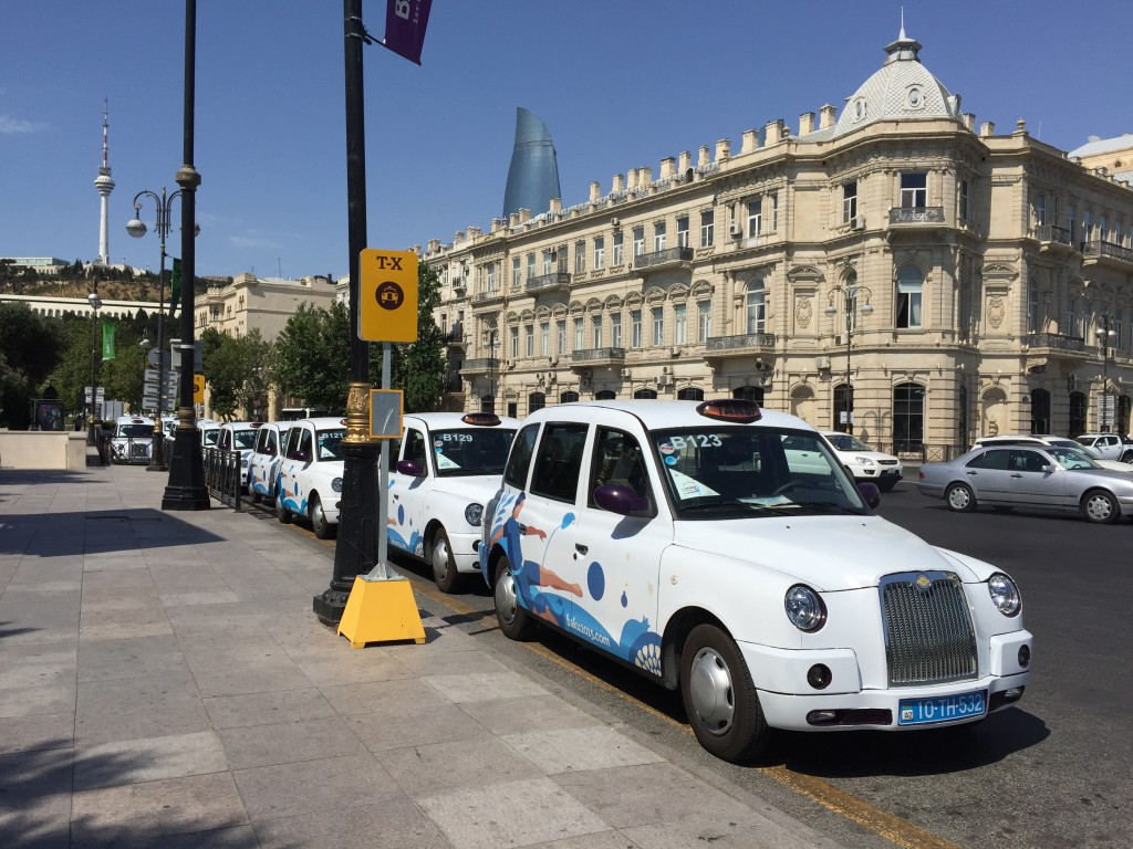 European Games-taxier i Baku, Azerbaijan