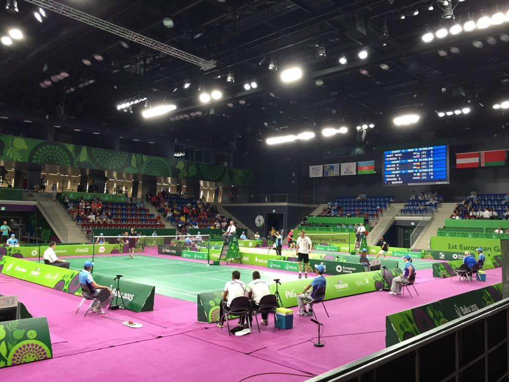European Open, Baku Sports Hall (Azerbaijan). Badminton for menn.