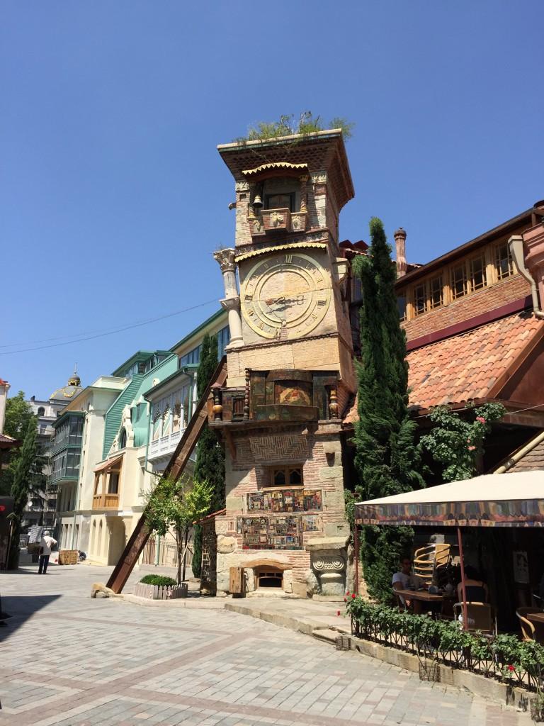 Fint, koselig og litt rart i gamlebyen i Tbilisi.